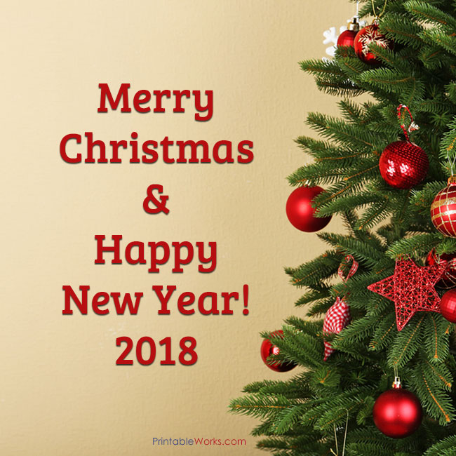 Merry Christmas Happy New Year 2018 001